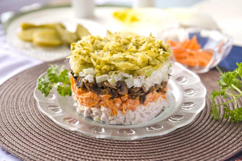 рецепты салатов по дюкану с
